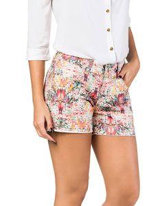 Shorts Ibiza Jeans Estampado Verde - Lez a Lez