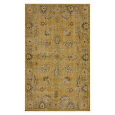 I pinned this Cyrus 5' x 8' Rug in Gold from the Fabulous Flatweaves event at Joss and Main!