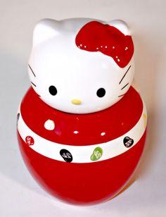 Jelly Belly Hello Kitty Ceramic Candy Jar
