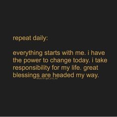 Affirmation Quotes, Empowering Quotes, Daily Affirmations, My Way, How To Relieve Stress, Law Of Attraction, Beautiful Words, Everything, No Response