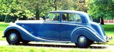 Bentley Mark V, 1939, #B30AW, H.J. Mulliner Saloon. The body is said to have been finished after WWII