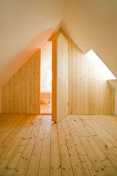 Anche con un design minimale si possono ricavare stanze nascoste