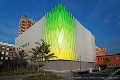 Not painted, but UMCG Groningen. Architect Urbex.
