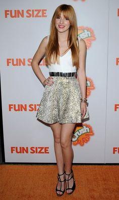 "Bella Thorne Photos  - ""Fun Size"" Premiere - Zimbio"