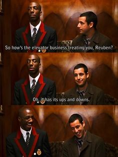 From Mr. Deeds.