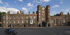 St. James Palace, York House,  London -  residence of  Prince Henry, Duke of Gloucester  & Princess Alice, Duchess of Gloucester, son & daughter-in-law of King George V