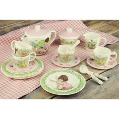 Belle and Boo Tea Set by Oliver's Twisty Tales