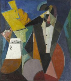 TICMUSart: Portrait of Igor Stravinsky - Albert Gleizes (1914) (I.M.)