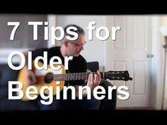 7 Tips for Older Beginners | Tom Strahle | Pro Guitar Secrets - YouTube #guitarforbeginners #guitarchords