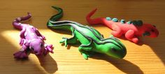Creator's Joy: How to Make Fimo or Sculpey Polymer Clay Lizards