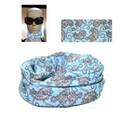 Multi Headwear Cap Headwrap Tube Scarf Bandana Sky Blue, MSC-SB by The Elixir. $5.99. Can be used as a Headwear, Cap, Neck Gaitor, Neck Warmer, Wind or Dust Screen. Color: As shown picture____ 100% Brand new and unworn. Material: High Tech Microfiber(Wick, absorb and evaporate moisture / Breathable / Wind resistant). Versatile Usage (Ideal for most of outdoor sports or fashion accessory ). Keep you warm in the Winter, Cool in the Summer____ Seamless Design. Multifunction...