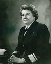 Rear Admiral Jessie M. Scott became the deputy chief of the service in 1957. In 1964, the surgeon general appointed her the second director of nursing. Rear Admiral Scott was assistant surgeon general in the U.S. Public Health Service and led the Division of Nursing for 15 years. She was instrumental in the passage and implementation of the Nurse Training Act.