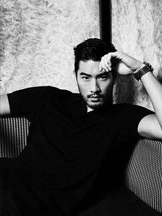 oh darling, Handsome Asian Men, Sexy Asian Men, Sexy Men, Asian Guys, Dandy, Godfrey Gao, Male Models Poses, Beard No Mustache, Thing 1