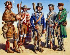 Texian Volunteers by Gary Zaboly