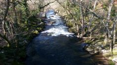Paisaje senda fluvial río Arenterio Scenery, Fotografia