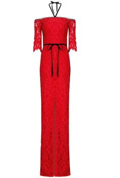 Alexis Joaquin Jumpsuit Red Lace