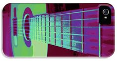 Guitar In Color iPhone5 Case