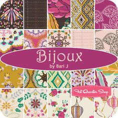 Bijoux by Bari J. for Art Gallery Fabrics - Fat Quarter Shop