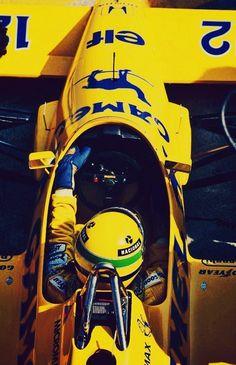 Ayrton Senna Lotus - Honda 1987