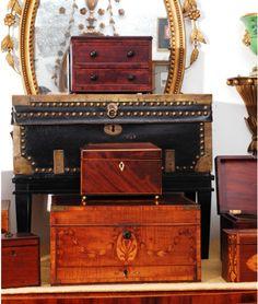 antique boxes Spurgeon & Lewis