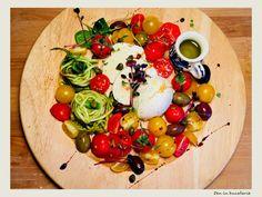 Salata cu mozzarella, rosii si dovlecel Mozzarella, Fresh, Lifestyle, Salads