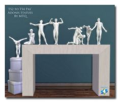 TS2 To TS4 PAS Adonis Statues at Msteaqueen via Sims 4 Updates Check more at http://sims4updates.net/objects/decor/ts2-to-ts4-pas-adonis-statues-at-msteaqueen/
