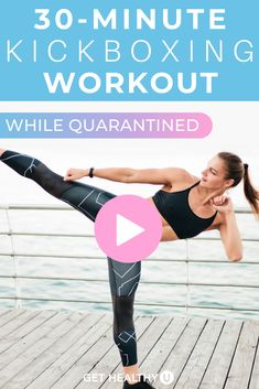 Get ready for a 30-Minute Bodyweight Cardio Kickboxing HIIT Workout! Follow along as we combine cardio kickboxing drills with a HIIT style workout meant to get your heart rate up and your blood pumping! Take it outdoors or do it in the comfort of your own living room. Step Workout, Kickboxing Workout, Muscle Building Workouts, Heart Rate, Easy Workouts, Hiit, Workout Videos, Body Weight, Studio Workouts