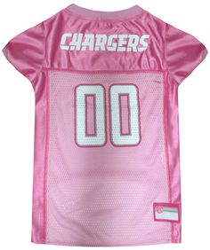 Collar Planet - San Diego Chargers NFL Licensed Pink Dog Football Jersey  (http   07ad332dc