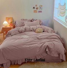 Beige Bedding Sets, Green Bedding, Ruffle Bedding, Queen Bedding Sets, Queen Duvet, Cute Bedding, Cotton Bedding Sets, Purple Bed Sheets, Cute Bed Sheets