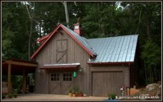 Accessory Horse Barn Building - Tractor Shed - Art Studio