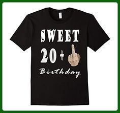 Mens 21th birthday T shirt 3XL Black - Birthday shirts (*Amazon Partner-Link)