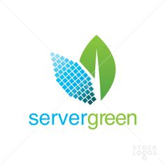 A simple and interesting logo that can be used for company servers!