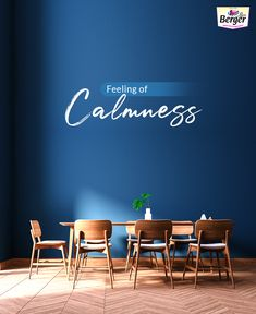 Looking for painting ideas?  Paint your wall with Classic Blue which stands for calmness.