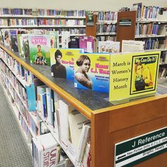 Pick up a book in our children's library for National Women's Month!