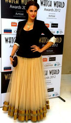 Indian and yet not - Anita Dongre skirt