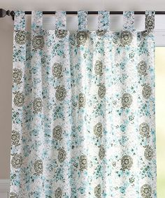 Take A Look At This Autumn Blossom Curtain Panel By Karma Living On #zulily  Today