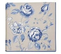 Servilletas de papel Amanda Dark Blue (20) - GreenGate