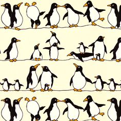 Penguins can fly if they are on wire rope