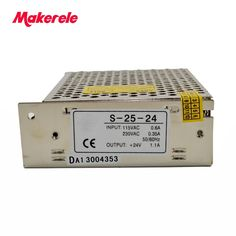 Hot sale power supplies 25w 1.1a Switching Power Supply Output DC 5/12/24V for LED Lighting Display with CE certification