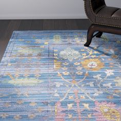 Found it at AllModern - Misael Blue Area Rug