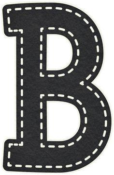 Artigo relacionado Moldes de Letras Negras Grandes contenido em Moldes de letras