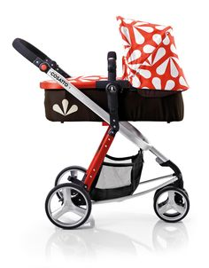 This is my little girls pram. She looks very cool lay in it and its different to the usual iCandy and Bugaboo brigade