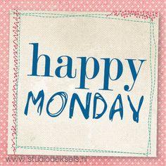 Studio Deksels Happy Monday Maandag
