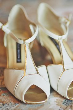 ADORE these! HH <3Wedding T Bar Shoes To Look Elegant ❤ See more: http://www.weddingforward.com/wedding-t-bar-shoes/ #weddings