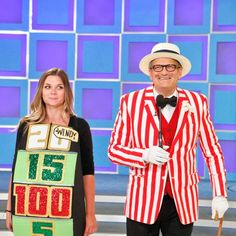 Carnival day on The Price Is Right means top hats, bowties and canes!