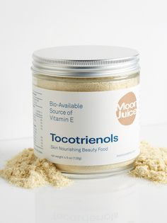 Tocotrienols | **Moon Juice**    Naturally nourish skin and revive tissue with this beauty boosting powder made from organic California rice. This ultra luxe, vitamin-and-antioxidant-filled formula works to boost immunity and muscle health while ridding your body of harmful toxins to protect vital organs. Perfect for use in anything from juices to ice cream. Crafted in Los Angeles, CA.    * 4.5 oz.    * **How to Use:** Blend a heaping spoonful or more into milk potions, juices, tonics…