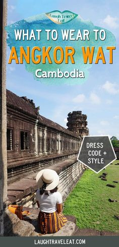Weirdly enough, what to wear when visiting Angkor Wat is one of my main concern before my trip. Here's the rules, reality, and what we wore