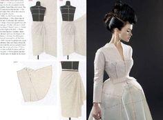 Draping art and craftsmanship in fashion design 13
