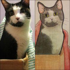 Custom Hand Drawn Pet Portrait $28 #OOAK https://www.etsy.com/listing/181781844/pet-portrait-single-8x10-hand-drawn-cat?ref=listing-shop-header-0  #cats #dogs #meow #drawing #sketch #petlover #crazycatlady