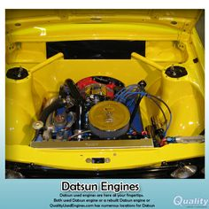 #QualityUsedEngines The Datsun 1600 P510 was built in South Africa in Pretoria between 1969 and 1974. They were available as a 1600 deluxe
